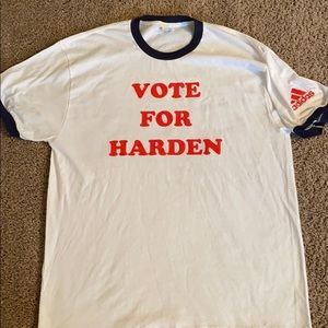Adidas Houston Rockets harden Tee sz XL